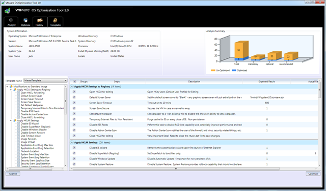 New VMware Fling – VMware OS Optimization Tool for View