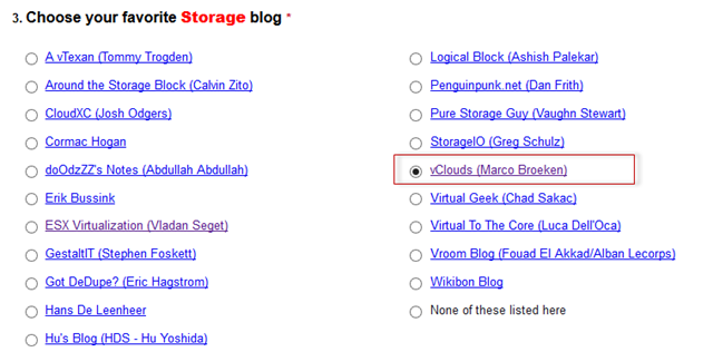 VOTE NOW – 2014 Top VMware & Virtualization Blogs